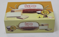 LIPO Butter Egg Cookies Like Biscuits and Chocolate from Dubai with 95G Box packaging