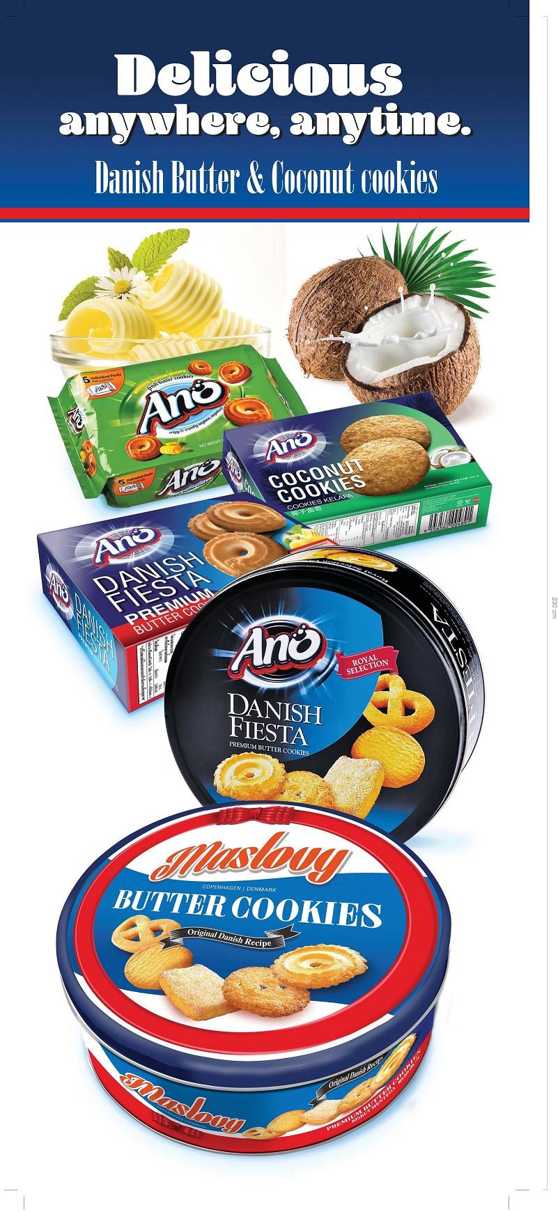 Maslovy/ano Danish Butter Cookies