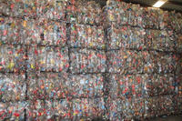offer PET, CLEAN,UNWASHED, BOTTLE SCRAP, FLAKES ,MIXED color/CLEAR ,PC WATER BOTTLE baled SCRAP for sale