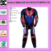 Leather Suit Motorcycle Suit fashion motorbike suit