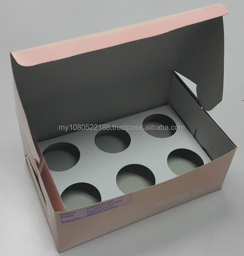Off set - Cup Cake Box