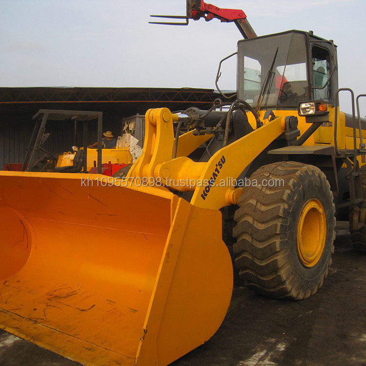 Komatsu WA380-3 used loader for sale in Shanghai China