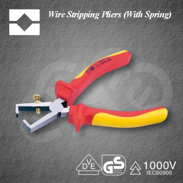Convenient and Powerful Wire Stripping Pliers(with Spring) Insulated tool