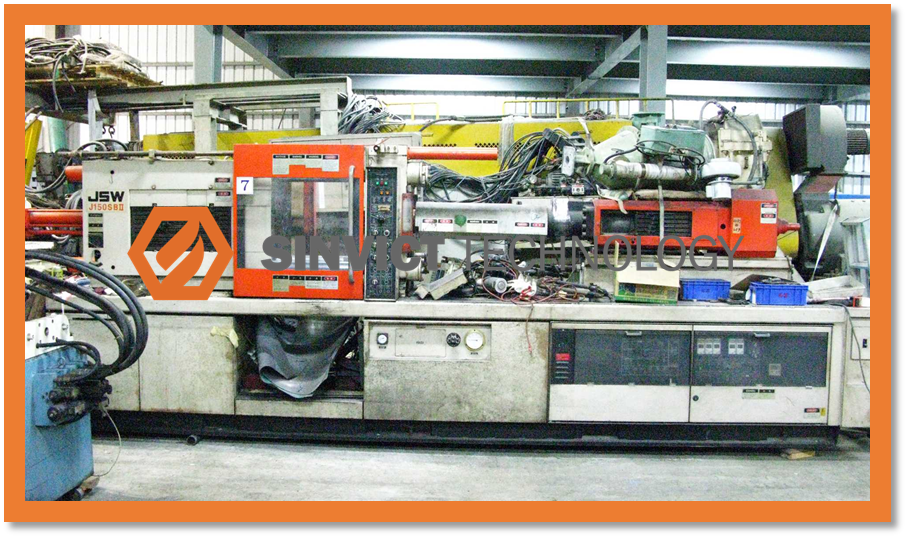 Pre-owned/Second hand/Used injection molding machine JSW 150SBII