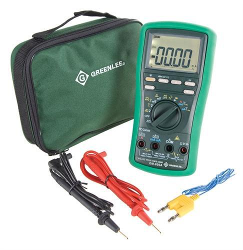 Greenlee 08745, DM-820A ESM Series True RMS Digital Multimeter with Auto-Check Function