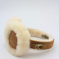 Amazing 100% Australia Sheepskin Lambskin Kangroo Ugg Earmuff (Factory Outlet)