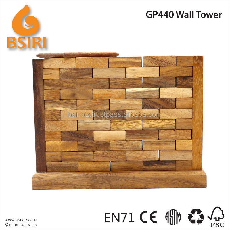 Wall Tower Jumbling Tower Classic Wooden Game