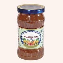 Diabetic Jam From Fig - 340 g. Private Label Available. Made In EU