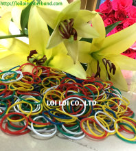 Rubber band - Rubber tube for cutting machine / Small colored rubber band DIY