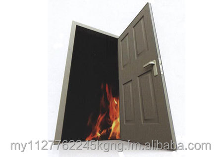 Fire Rated Door / Metal or Timber Frame / 1 - 2 hour rating