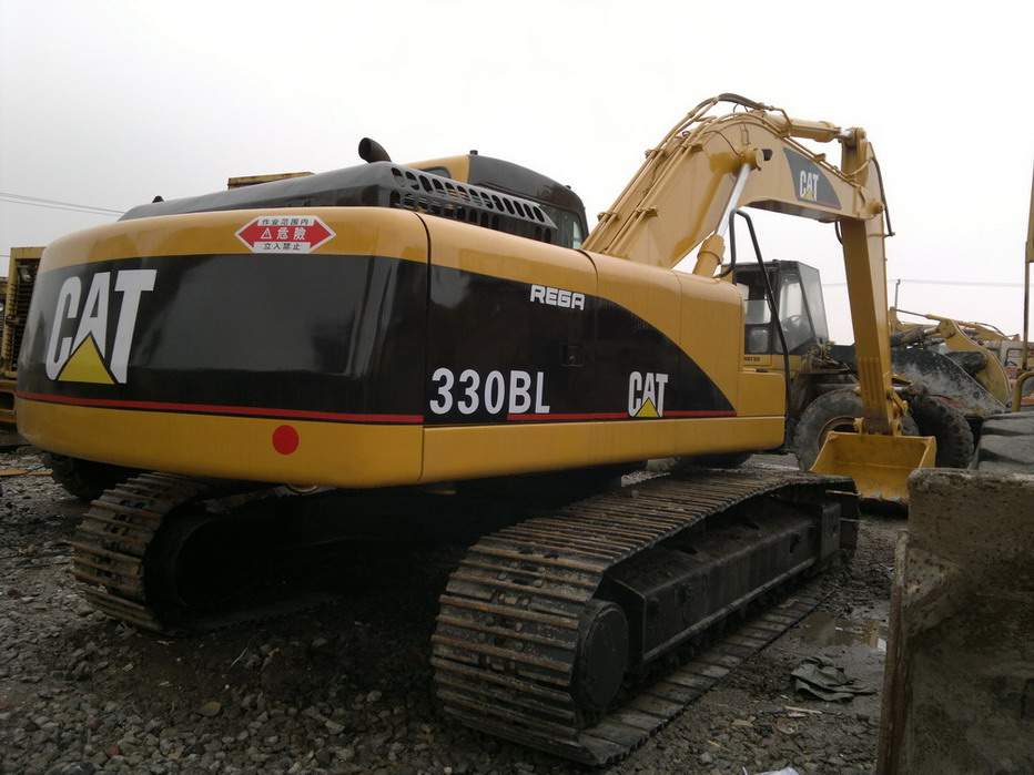 Caterpillar 330BL Excavator (available on site for check)