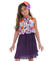American Kids Wear Lovely Frock