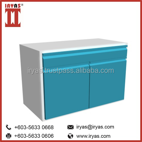 2 Doors School Laboratory Metal Equipment Tool Storage Cabinet