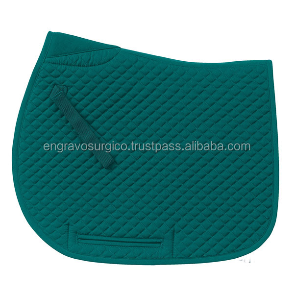 saddle pads/ horse saddle pads/ polycotton horse saddle clothes/ horse riding products