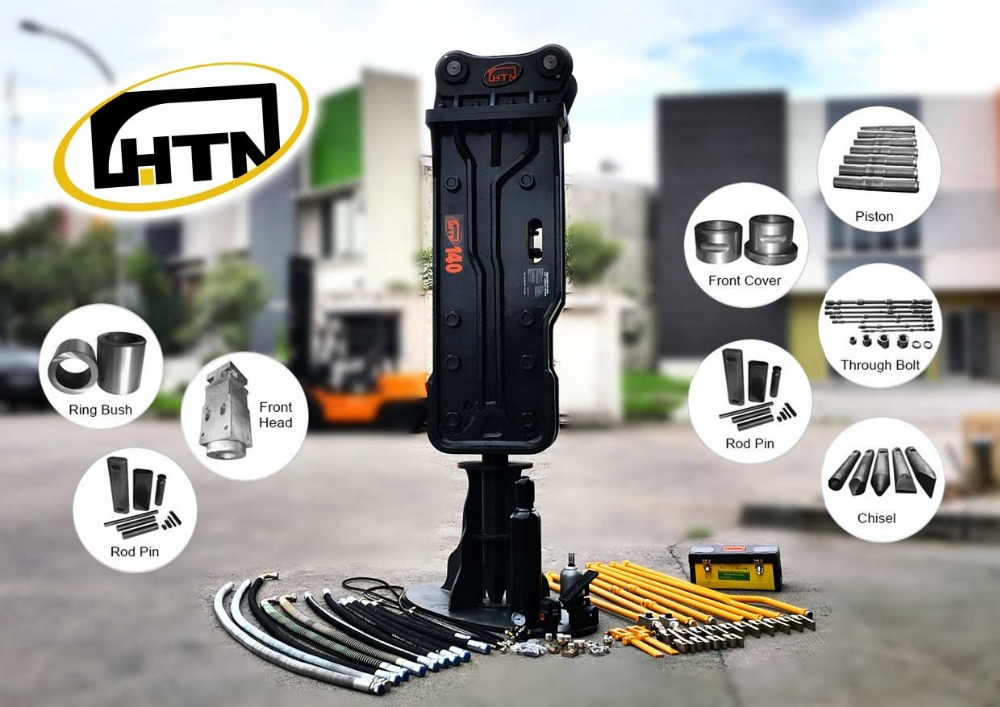 HTN Hydraulic Breaker / Rock Breaker for Excavator