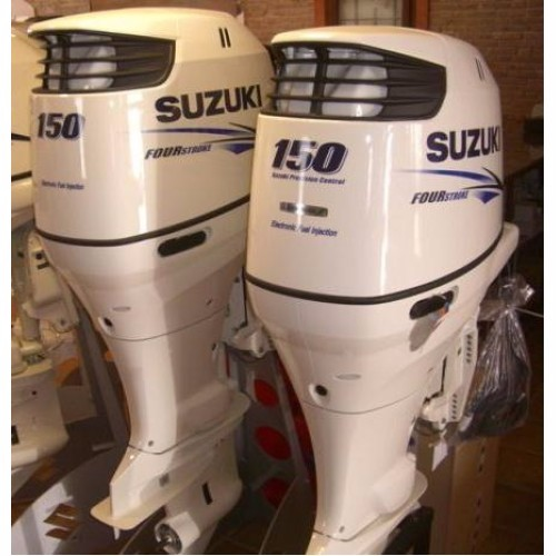 USED SUZUKI 150 HP FOUR STROKE OUTBOARD MOTOR