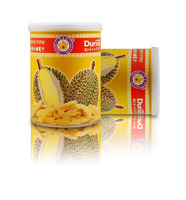 Thai Ao Chi's Best Vacuum Freeze Dried Durian in Tin Can [ HACCP , HALAL , GMP, KOSHER& ISO 22000 Certified ]