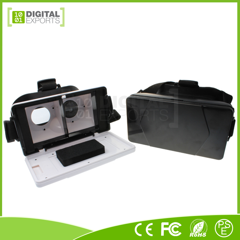 Brand new custom logo 3d glasses, smart phone 3d vr glasses, vr boxe