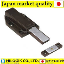 Sugatsune LAMP magnetic door latch with long stroke Brown for large doors Japanese market product