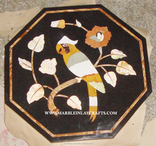 Decorative Marble Black Inlay Table Top