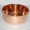 Solid Copper Ice Bowl, Pure Copper Pet Bowl, Dog Bowl