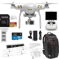 DJI Phantom 3 Professional Quadcopter Drone with 4K UHD Video Camera Starter Kit