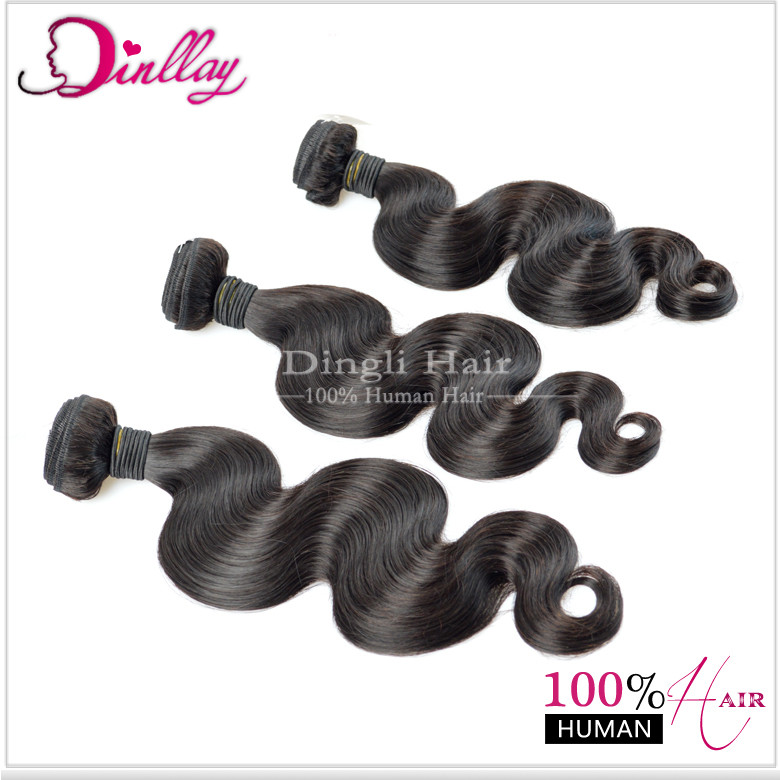 Wholesale 8a grade hair Peruvian hair body wave hair with closure