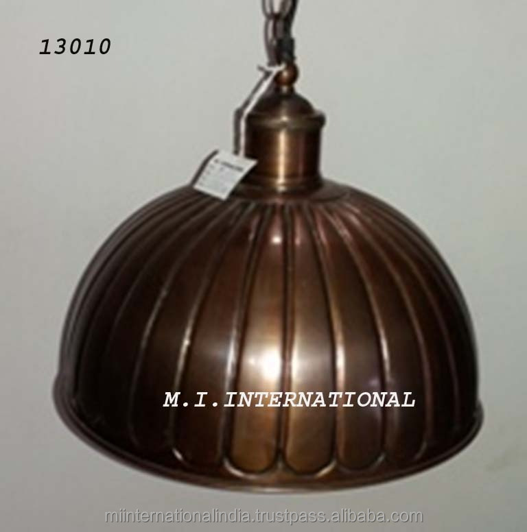 Metal Hanging Light, Metal pendant light