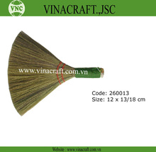 Use of soft broom grass broom