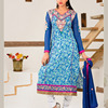 Cotton Jacquard ReadyMade Suits With Designer