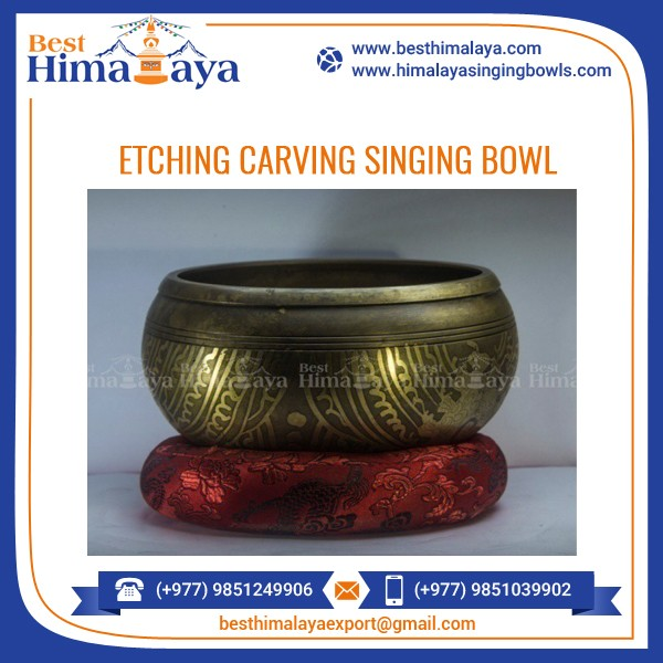 Singing Bowl Set Available for Vibration Therapy