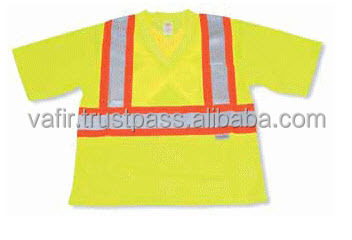 multi color for choose 100% polyester mesh fabric safety reflective vest