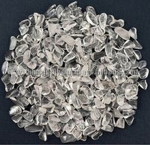 Natural clear quartz crystal tumbled stone natural rock crystal grave : Lot of Small to Tiny Super Clear Quartz Crystal Chips