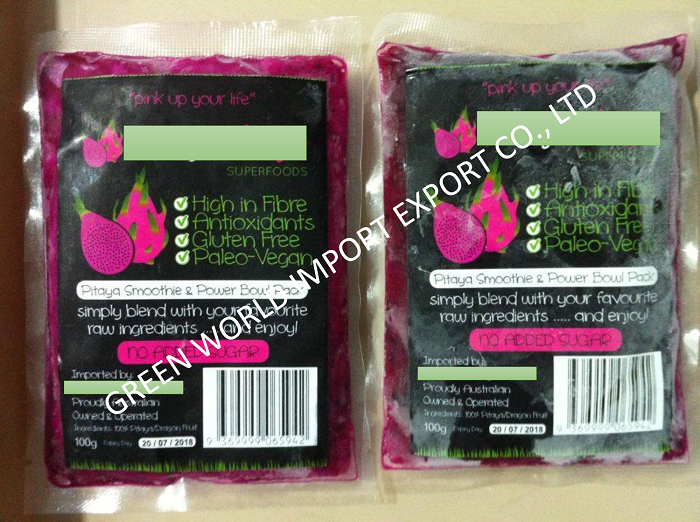 PINK PITAYA FRUIT - PREMIUM QUALITY - 100% PURE WITH ORGANIC CERT .!