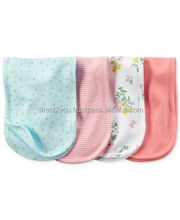 new arrival baby burp cloths