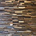 Reclaimed Teak Wall Cladding