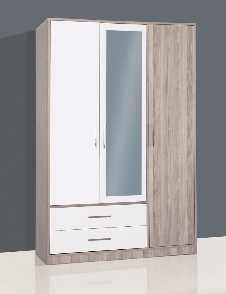 DURU 3 DOOR WARDROBE WITH HINGE