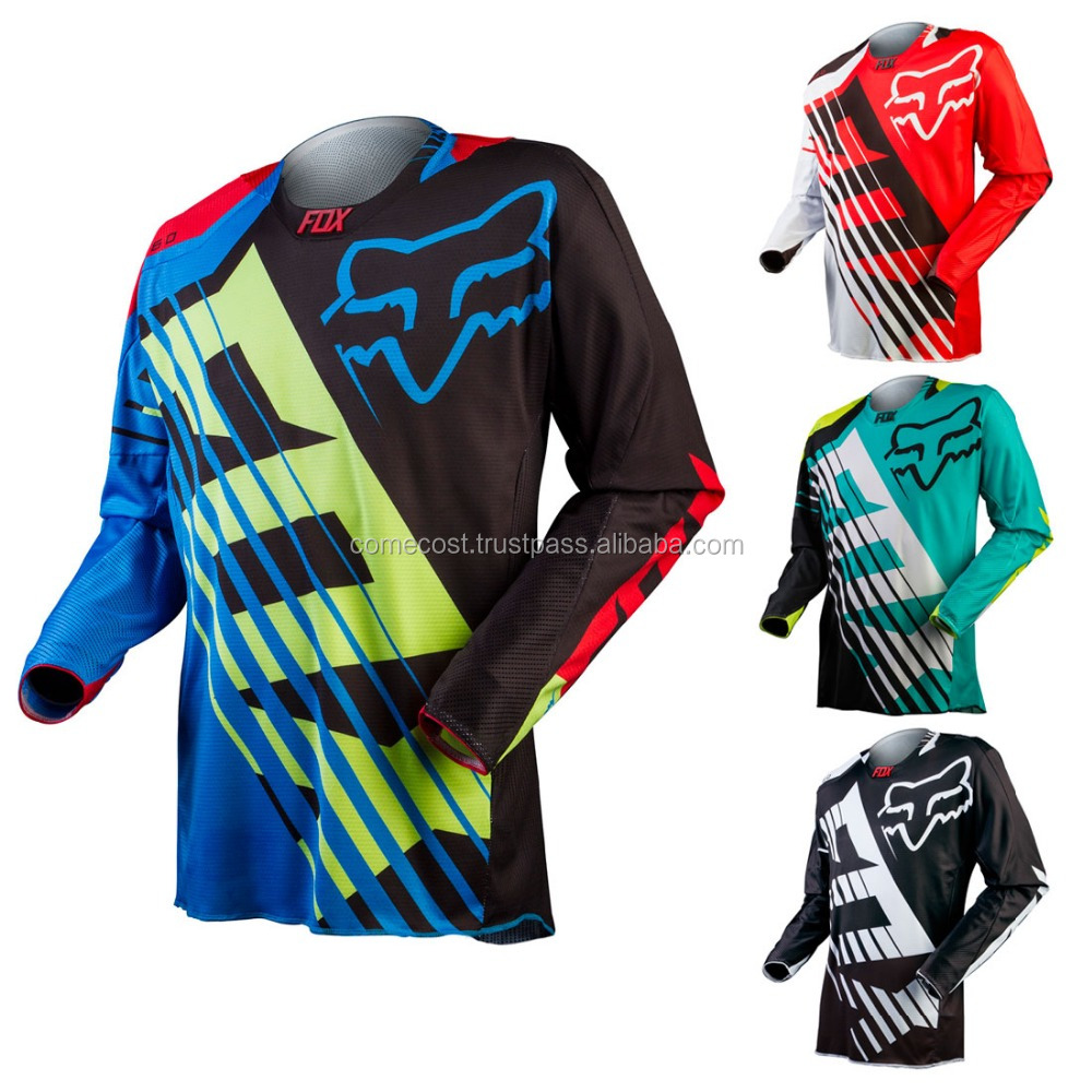 Racing unisex hot sale reversible motorcycle jersey/shirt