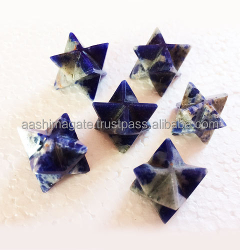 Wholesale Sodalite Merkaba Stars Natural merkaba crystal