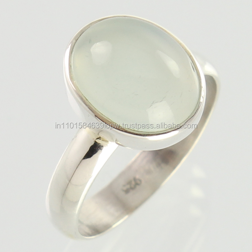 Top Selling Products In Alibaba Silver Aqua Chalcedony Ring Designs For Men
