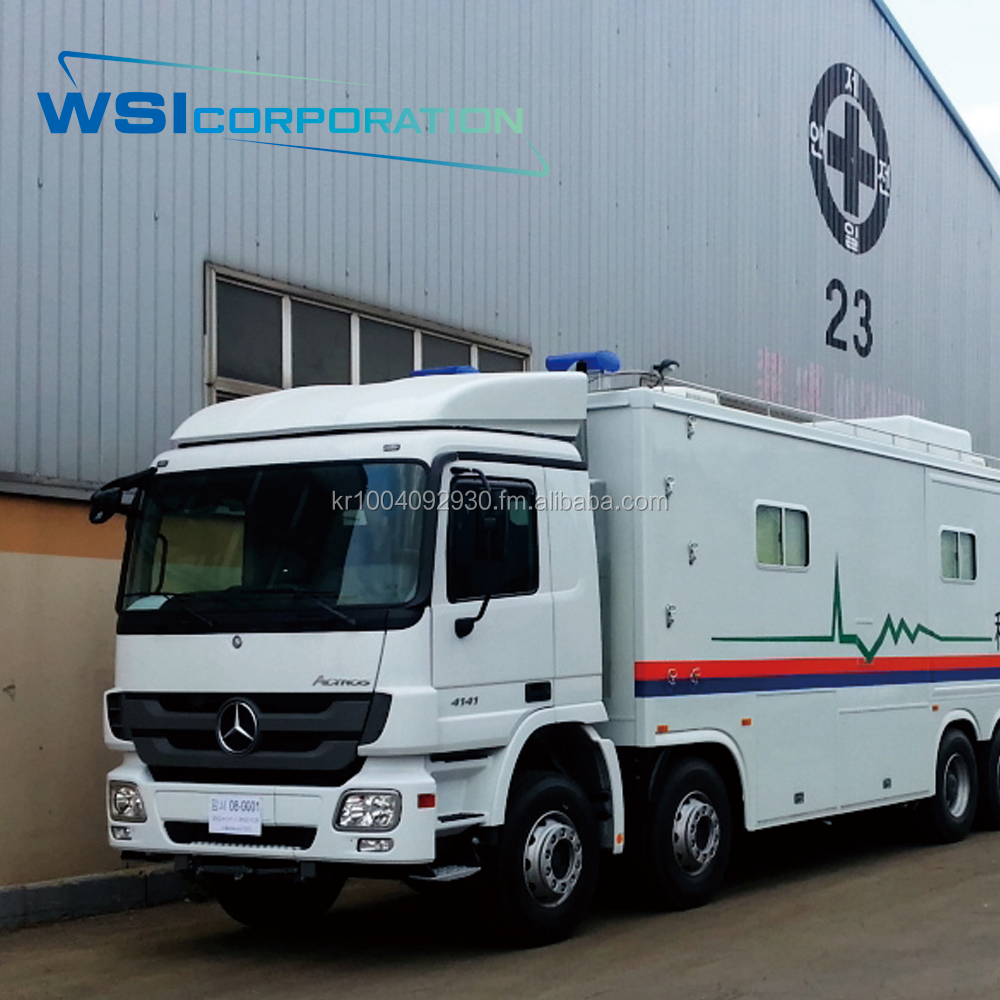 Mobile Hospital Center (Ophthalmic Unit), Mobile Clinic, Medical Vehicle, hospital equipment, medical equipment