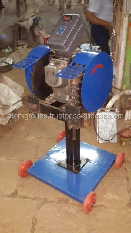 Automatic Coconut Deshelling Machine