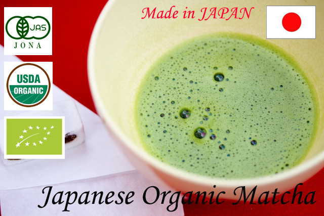 High quality JAS 100% organic japanese matcha green tea powder 20g[TOP grade]