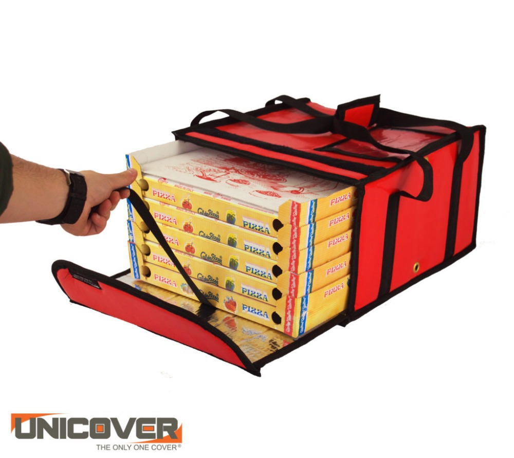 Italian insulated pizza delivery bag