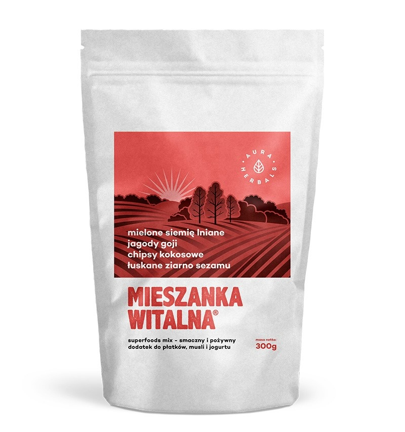 Breakfast vital mix 300g (flax seed, goji, coconut chips, sesame)