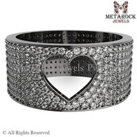 Pave Diamond Ring High Fashion Latest Design Rings Mother's Day Made for Special Occasions