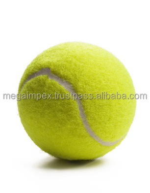 green colored tennis ball