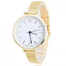 stainless steel Women Wrist Watch Zinc Alloy with Glass Chinese movement