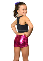 New Women's and Girl's Metallic Booty shorts
