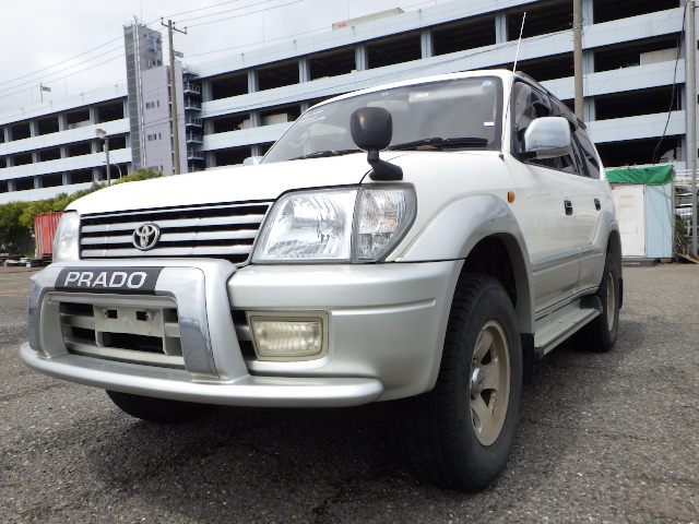 Exellent condition and High quality japanese used cars toyota land cruiser with popular made in Japan